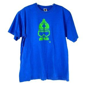 The North Face Ames Bros Designed T Shirt Ski Blue